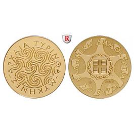 Griechenland, Republik, 50 Euro 2013, 1,0 g fein, PP