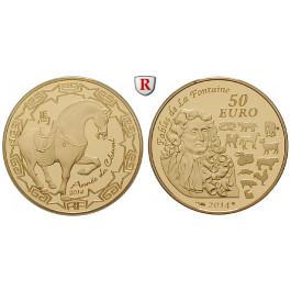 Frankreich, V. Republik, 50 Euro 2014, 7,78 g fein, PP