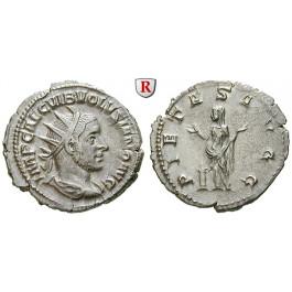Römische Kaiserzeit, Volusianus, Antoninian 253, vz