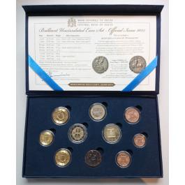 Malta, Euro-Kursmünzensatz 2015, st