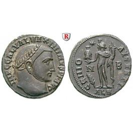 Römische Kaiserzeit, Maximinus II., Follis 312-313, vz-st