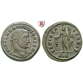 Römische Kaiserzeit, Maximinus II., Follis 308-310, vz