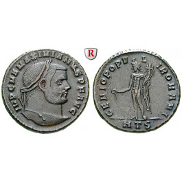 Römische Kaiserzeit, Maximianus Herculius, Follis 294, f.vz