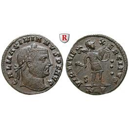 Römische Kaiserzeit, Maximianus Herculius, Follis 310, vz-st