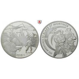 Frankreich, V. Republik, 10 Euro 2010, 7,78 g fein, PP