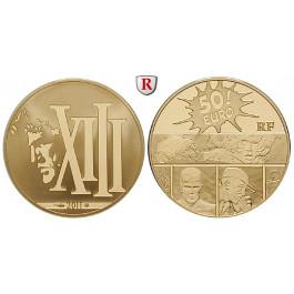 Frankreich, V. Republik, 50 Euro 2011, 7,77 g fein, PP