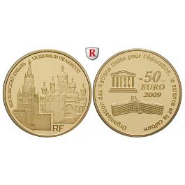 Frankreich, V. Republik, 50 Euro 2009, 7,77 g fein, PP