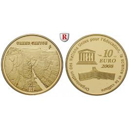 Frankreich, V. Republik, 10 Euro 2008, 7,77 g fein, PP
