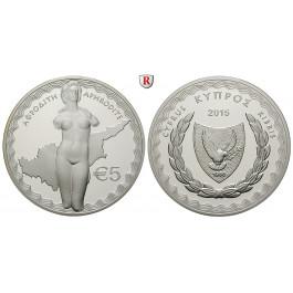 Zypern, Republik, 5 Euro 2015, PP