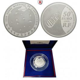 Frankreich, V. Republik, 50 Euro 2009, 155,61 g fein, PP