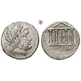 Römische Republik, M. Volteius, Denar 78 v.Chr., ss/ss-vz
