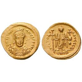 Byzanz, Justinian I., Solidus 527-565, ss-vz