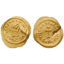 Byzanz, Tiberius II. Constantinus, Tremissis 578-582, ss