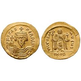 Byzanz, Phocas, Solidus 603, vz-st