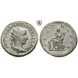 Römische Kaiserzeit, Gordianus III., Antoninian 243-244, vz-st