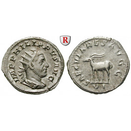 Römische Kaiserzeit, Philippus I., Antoninian 248, ss-vz