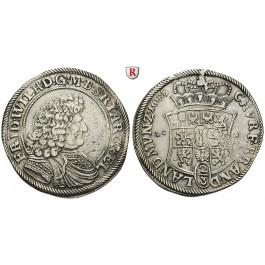 Brandenburg-Preussen, Kurfürstentum Brandenburg, Friedrich Wilhelm, 2/3 Taler 1688, ss+