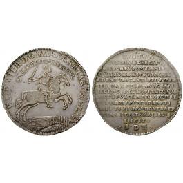 Brandenburg-Preussen, Kurfürstentum Brandenburg, Friedrich Wilhelm, Reichstaler 1675, f.vz