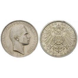Deutsches Kaiserreich, Sachsen-Coburg-Gotha, Carl Eduard, 2 Mark 1905, A, vz/vz+, J. 147