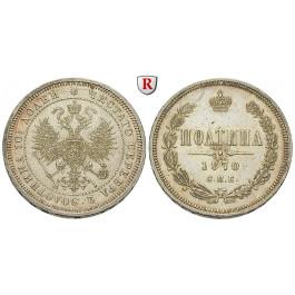 Russland, Alexander II., Poltina 1870, vz