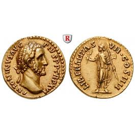 Römische Kaiserzeit, Antoninus Pius, Aureus 154, vz