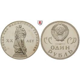 Russland, UdSSR, Rubel 1965, PP
