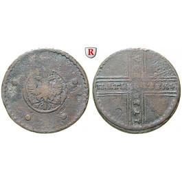 Russland, Anna, 5 Kopeken 1730, s-ss