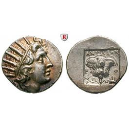 Karien - Inseln, Rhodos, Drachme 125-88 v.Chr., vz+