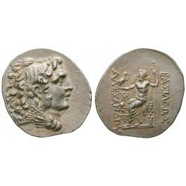 Makedonien, Königreich, Alexander III. der Grosse, Tetradrachme 125-65 v.Chr., vz