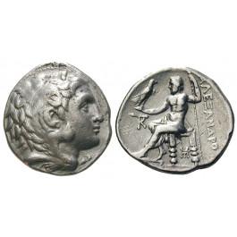 Makedonien, Königreich, Alexander III. der Grosse, Tetradrachme 320-280 v.Chr., ss-vz
