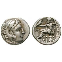 Makedonien, Königreich, Alexander III. der Grosse, Drachme 310-301 v.Chr., ss+