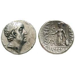 Kappadokien, Königreich, Ariobarzanes I., Drachme Jahr 28 = 68-67 v.Chr., ss+
