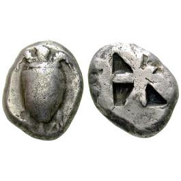 Aigina, Stater 525-480 v.Chr., ss+