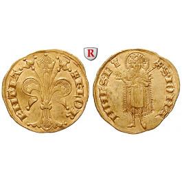 Italien, Florenz, Republik, Fiorino d´oro o.J. (1335), vz+