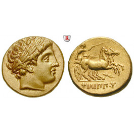 Makedonien, Königreich, Philipp II., Stater 323-322, vz-st