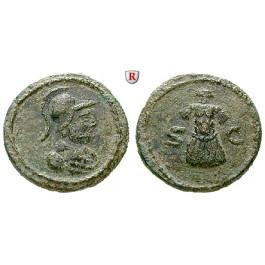 Römische Kaiserzeit, Anonyme Ausgaben, Domitian bis Antoninus Pius, Quadrans, ss
