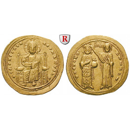 Byzanz, Romanus III., Histamenon nomisma 1028-1034, ss-vz