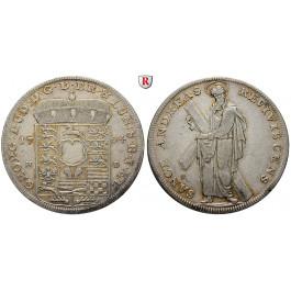 Braunschweig, Braunschweig-Calenberg-Hannover, Georg I. Ludwig, Reichstaler 1704, ss-vz