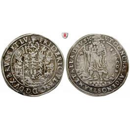 Braunschweig, Braunschweig-Wolfenbüttel, Friedrich Ulrich, Reichstaler 1634, ss