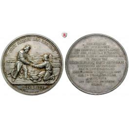 Sachsen, Königreich Sachsen, Friedrich August II., Silbermedaille 1847, vz