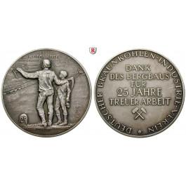 Ausbeute, Deutschland, Silbermedaille o.J. (1926), vz
