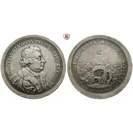 Stolberg, Stolberg-Stolberg und Stolberg-Roßla, Christof Friedrich und Jost Christian, Silbermedaille 1717, ss+