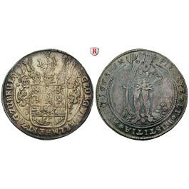 Braunschweig, Braunschweig-Calenberg-Hannover, Georg Wilhelm, Reichstaler 1653, ss+