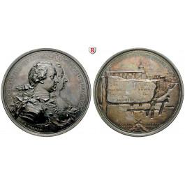 Schweden, Adolf Frederik, Silbermedaille 1755, vz