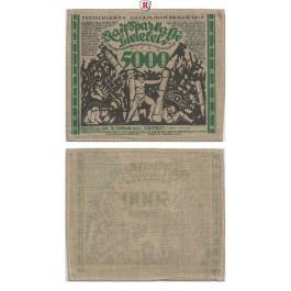 Notgeld der besonderen Art, Bielefeld, 5000 Mark 15.02.1923, I