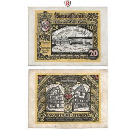 Notgeld der besonderen Art, Osterwieck a. Harz, 20 Mark 1.5.1922, I-