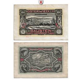 Notgeld der besonderen Art, Osterwieck a. Harz, 100 Mark 1.5.1922, II
