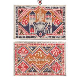 Notgeld der besonderen Art, Bielefeld, 50 Mark 9.4.1922, I