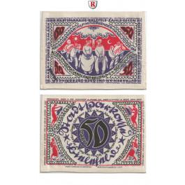Notgeld der besonderen Art, Bielefeld, 50 Mark 2.4.1922, I