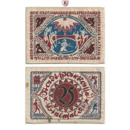 Notgeld der besonderen Art, Bielefeld, 25 Mark 15.7.1921, II